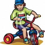 A_Young_Kid_on_a_Tricycle_Royalty_Free_Clipart_Picture_090504-025261-282009